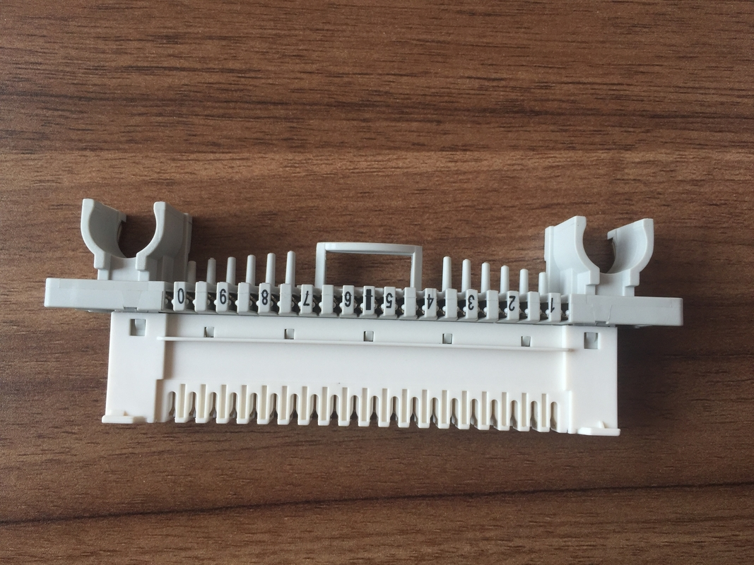 White / Grey LSA PLUS Krone NT Module , Profile Mount Krone Connection Module