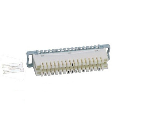 8 Pairs LSA Plus Module ABS / PBT UL - 94VO Disconnection Type Normal Closed